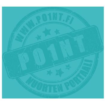 Kuvassa on Po1ntin logo, www.po1nt.fi Poi1nt nuorten portaali