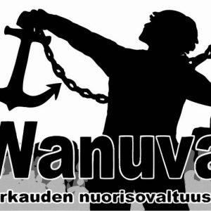 Nuorisovaltuusto Wanuvan logo